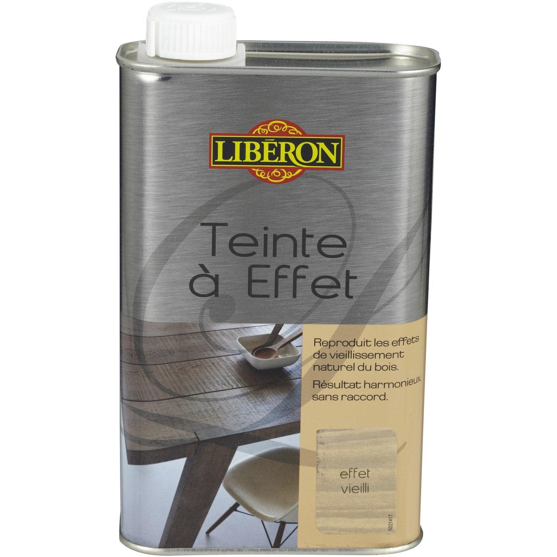 Teinte Effet Liberon 0 5 L Effet Vieilli Leroy Merlin