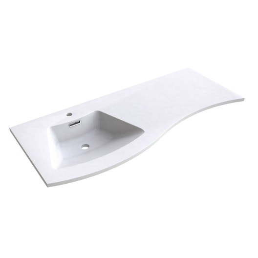 plan vasque simple fairway r sine de synth se 120 cm leroy merlin. Black Bedroom Furniture Sets. Home Design Ideas