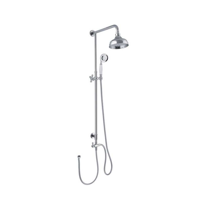 Colonne de douche sans robinetterie, SENSEA Retro | Leroy Merlin