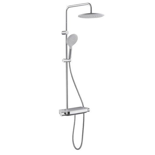 colonne de douche avec robinetterie, sensea tabla | leroy merlin