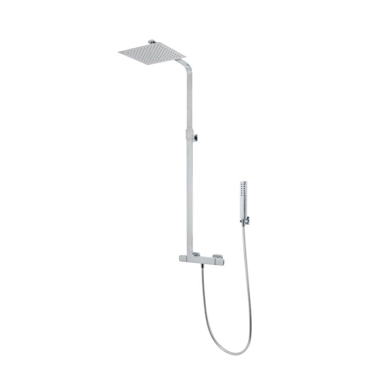 Colonne de douche avec robinetterie, SARODIS slim