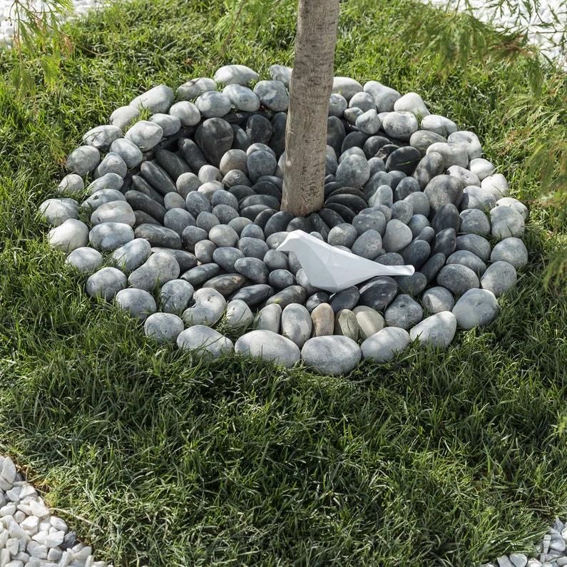 Galets pierre naturelle gris Gabions 20/50mm, 25 kg