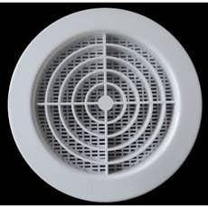 grille de ventillation ronde pvc x cm first plast leroy merlin. Black Bedroom Furniture Sets. Home Design Ideas