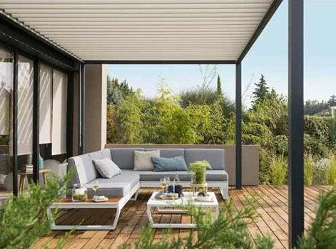 toit ouvrant terrasse beautiful traitement de louvrant terrasse with toit ouvrant terrasse. Black Bedroom Furniture Sets. Home Design Ideas