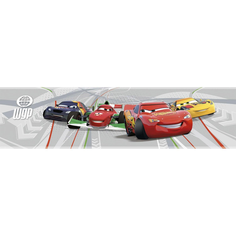 Frise vinyle adhésive Cars L.5 m x l.15 cm | Leroy Merlin
