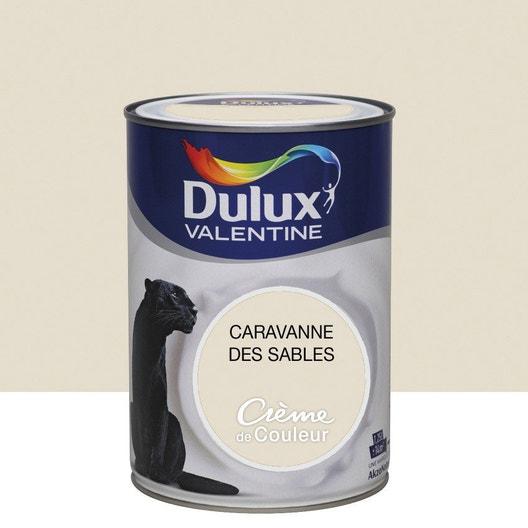 peinture beige caravane satin dulux valentine cr me de couleur l leroy merlin. Black Bedroom Furniture Sets. Home Design Ideas