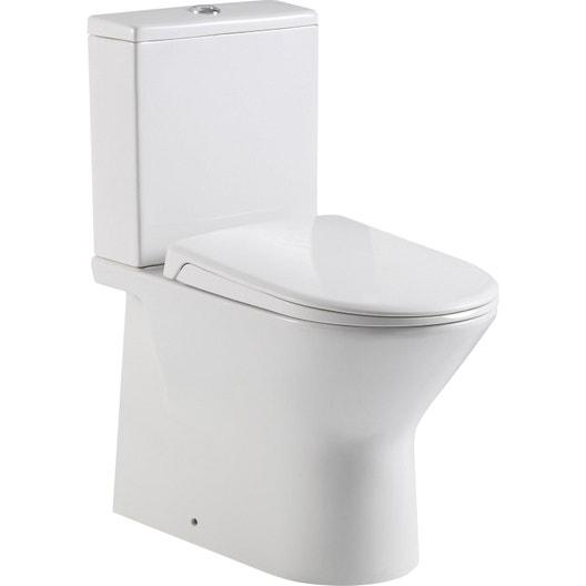 pack wc poser sortie horizontale sensea compacta. Black Bedroom Furniture Sets. Home Design Ideas