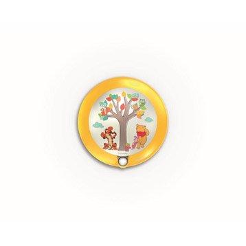 Veilleuse, led intégrée Winnies PHILIPS, synthétique multicolore, 0.3 W
