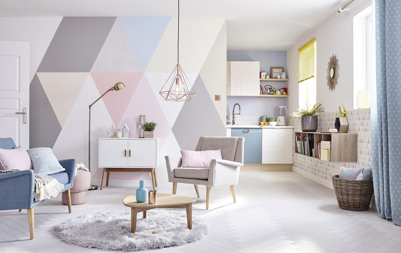 Mille et une couleurs sur les murs
