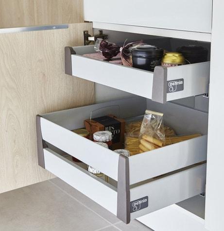 Des tiroirs très pratiques pour tout ranger