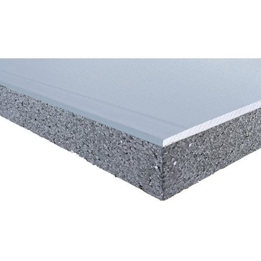 Doublage acoust en polystyr ne expans th32 siniat 2 5 x1 - Polystyrene expanse leroy merlin ...