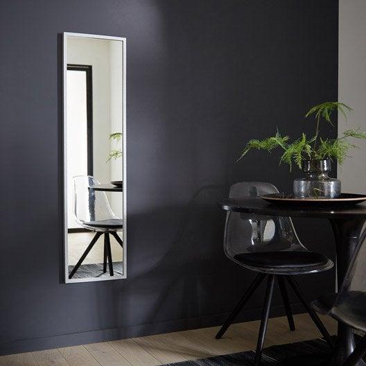 Miroir design industriel miroir mural sur pied au meilleur prix leroy merlin for Miroir 50 x 90