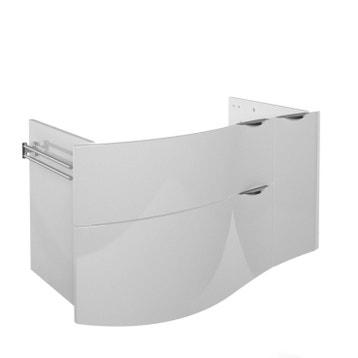 Vasque 100 Cm 2 Robinets au meilleur prix | Leroy Merlin