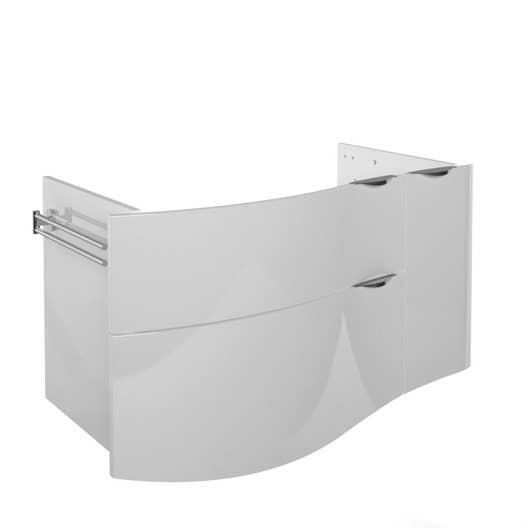 meuble sous vasque salle de bain 100 cm
