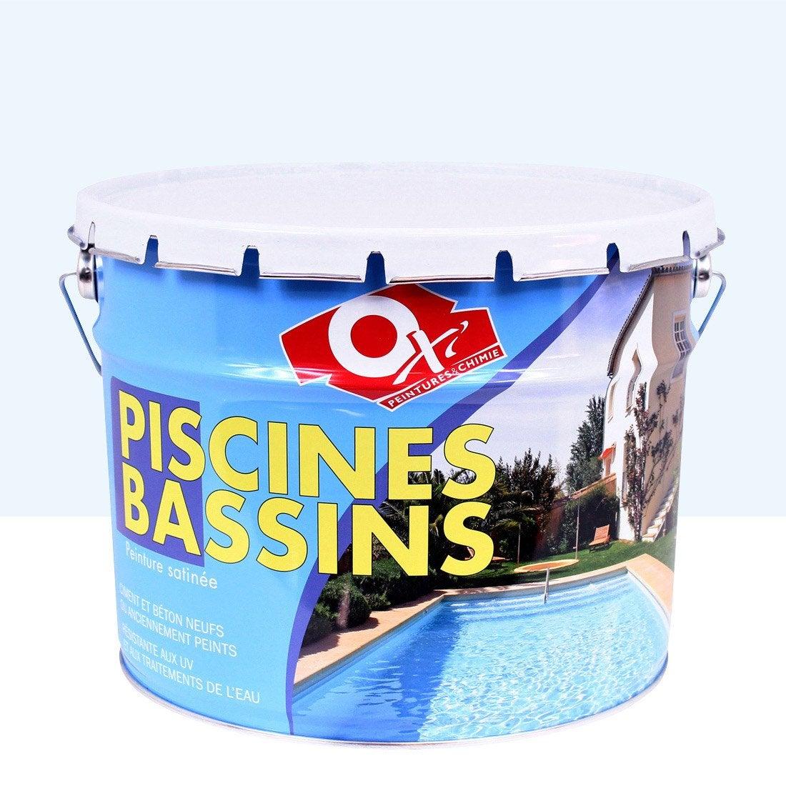 peinture piscine et bassin ext rieur oxytol bleu 10 l leroy merlin. Black Bedroom Furniture Sets. Home Design Ideas