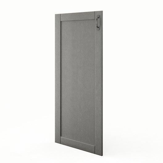 Porte 1 2 colonne de cuisine gris shadow x cm - Colonne de cuisine 60 cm ...