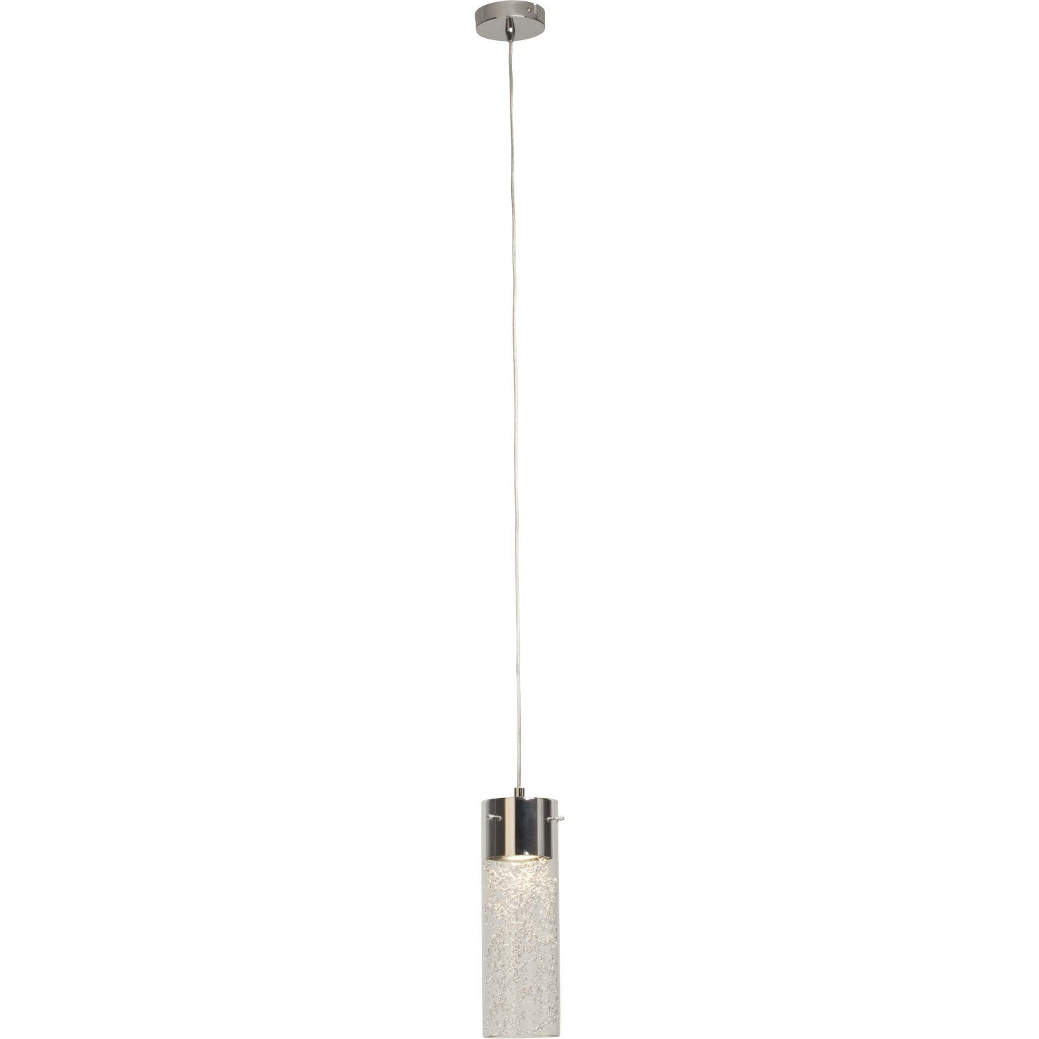 Suspension, gu10 design Joker métal chrome 1 x 7 W BRILLIANT