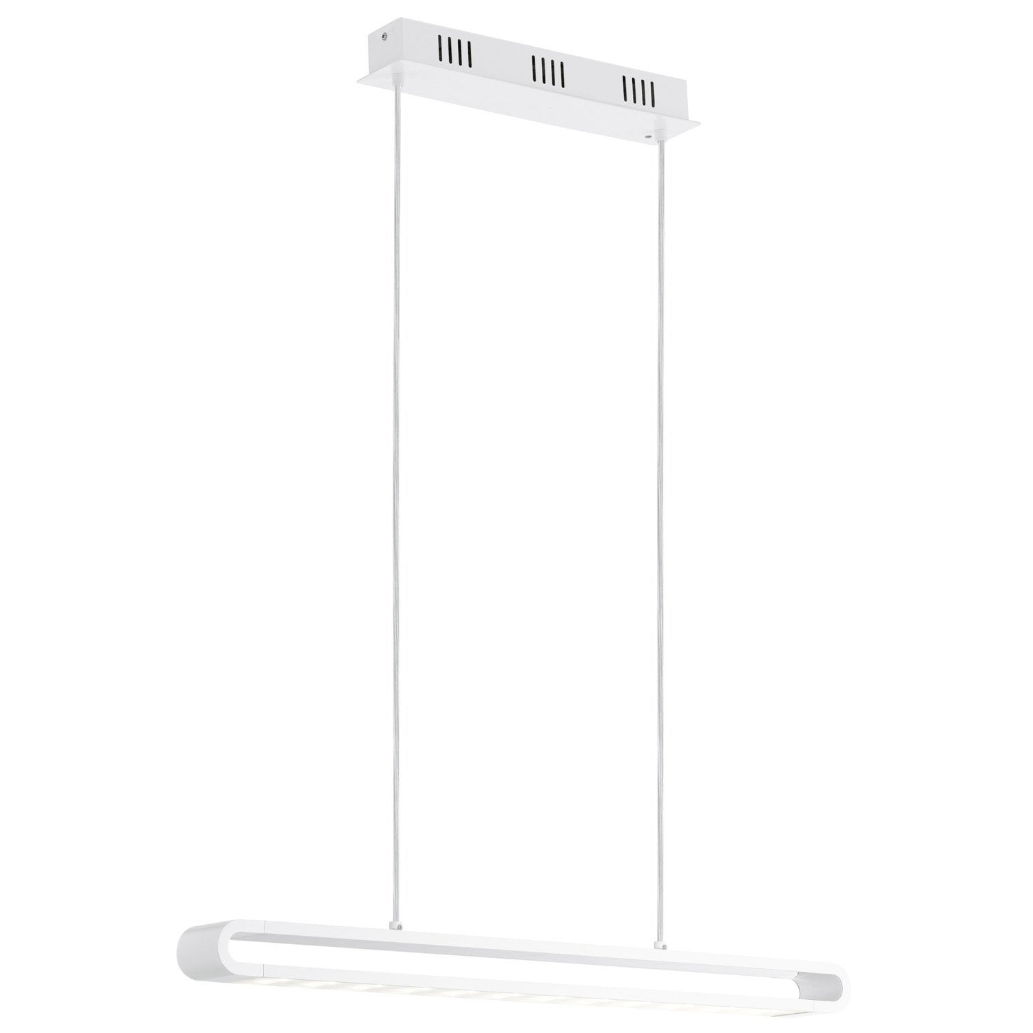 Suspension, led intégrée design Perillo métal blanc 2 x 24 W EGLO
