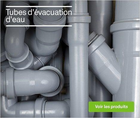 HOP Produits Tubes d'évacuation d'eau