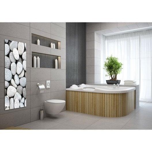 radiateur lectrique rayonnement decowatt galets 750 w. Black Bedroom Furniture Sets. Home Design Ideas