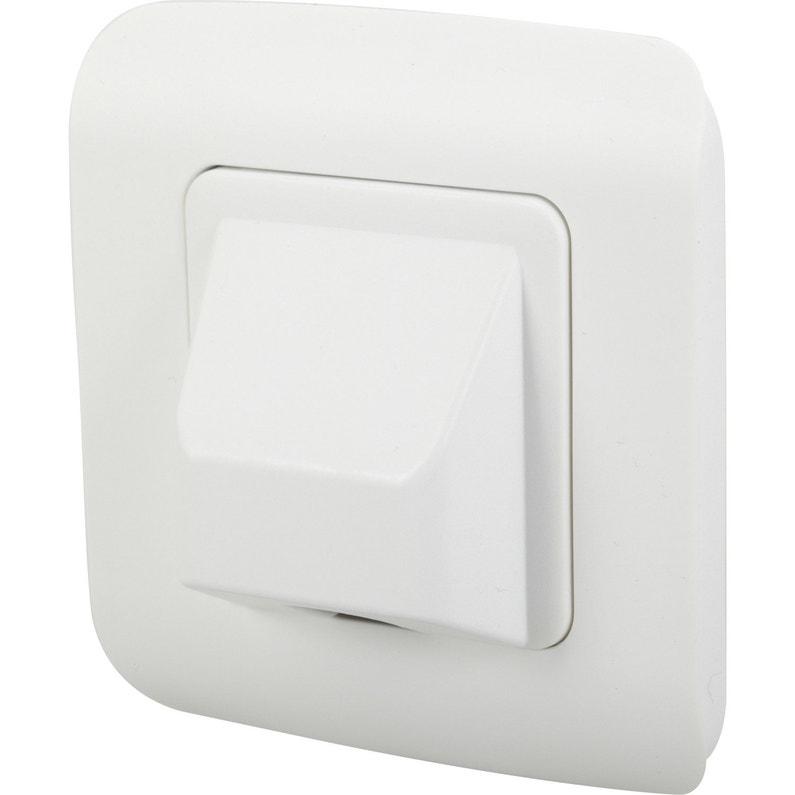 Sortie De Câble Cosy Blanc Blanc N 0 Lexman Leroy Merlin