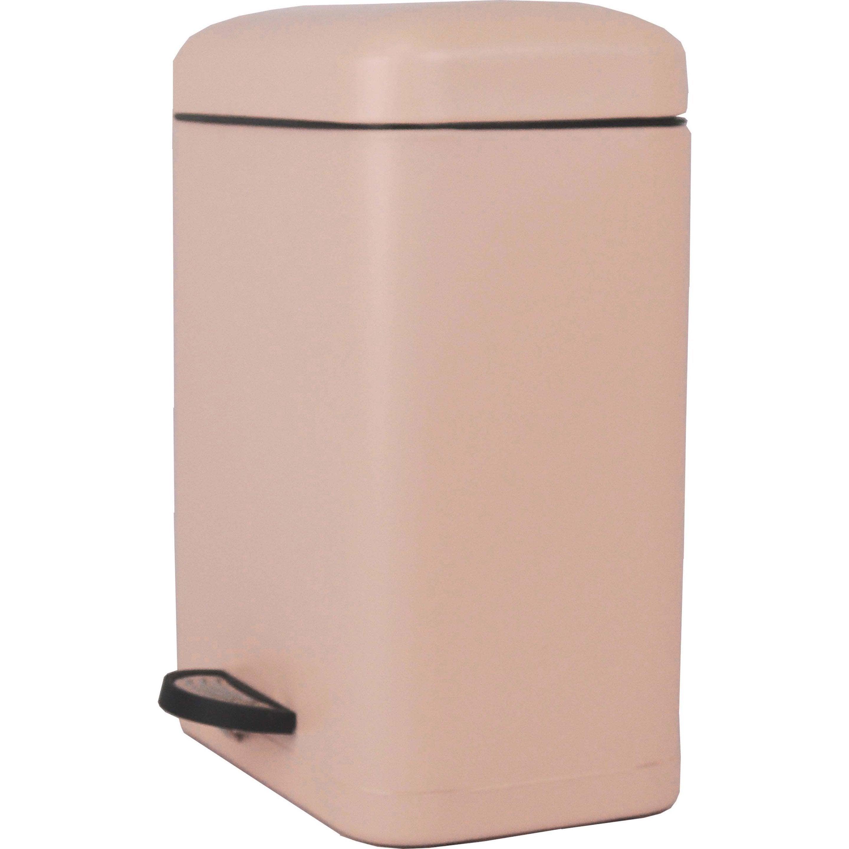 Poubelle de salle de bains 5 l bistro n°5 SENSEA Smart