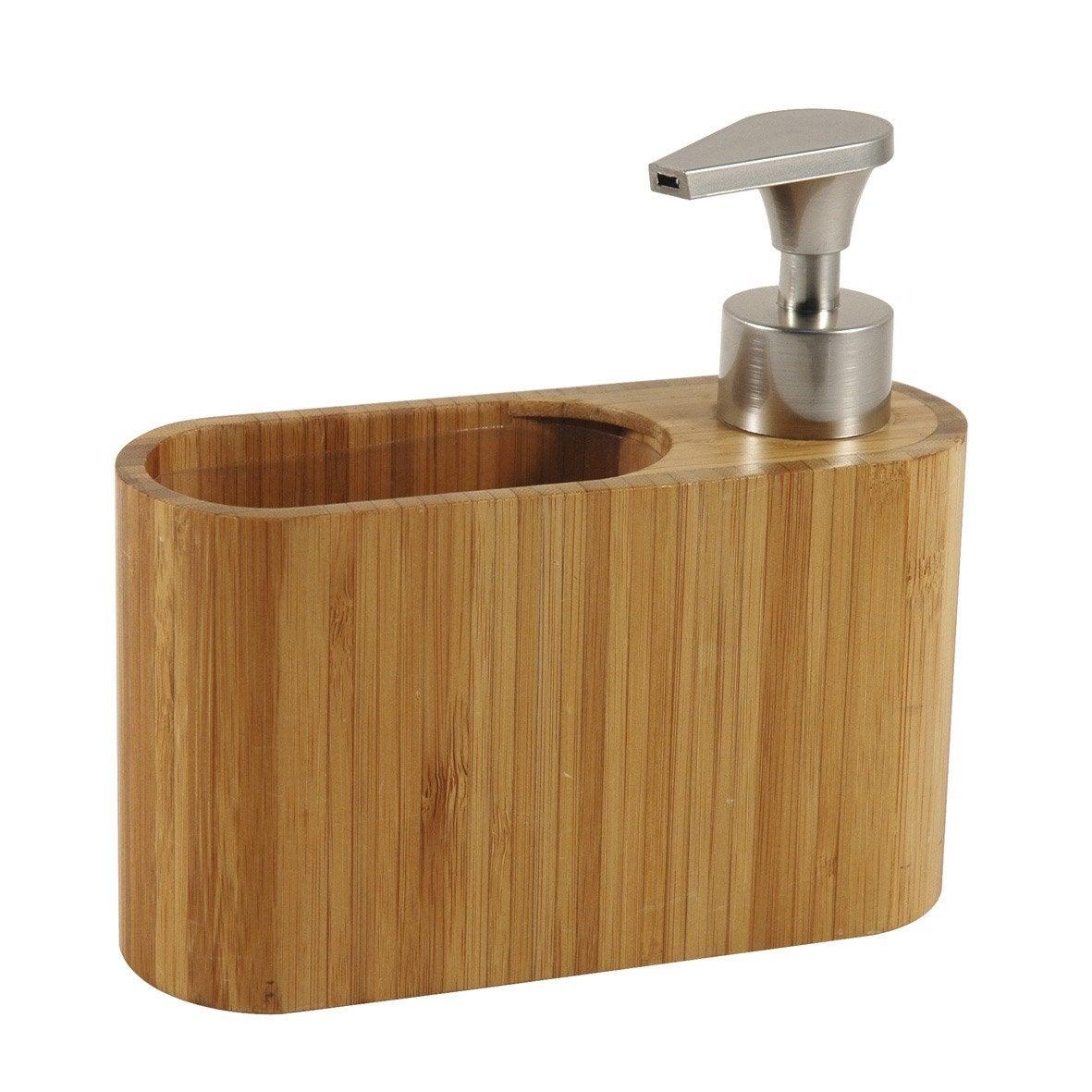 Distributeur de savon bambou, naturel