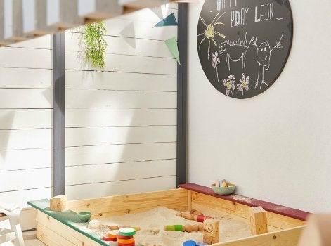8 astuces pour jouer dehors avec vos enfants leroy merlin for Par a vent exterieur