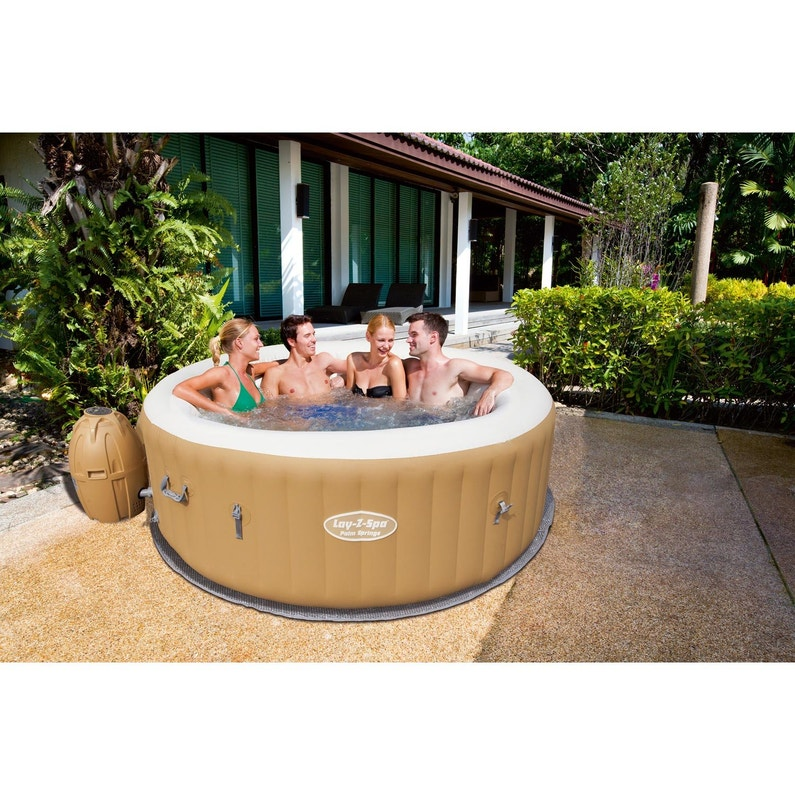 Spa Gonflable Bestway Lay Z Palmspring Rond