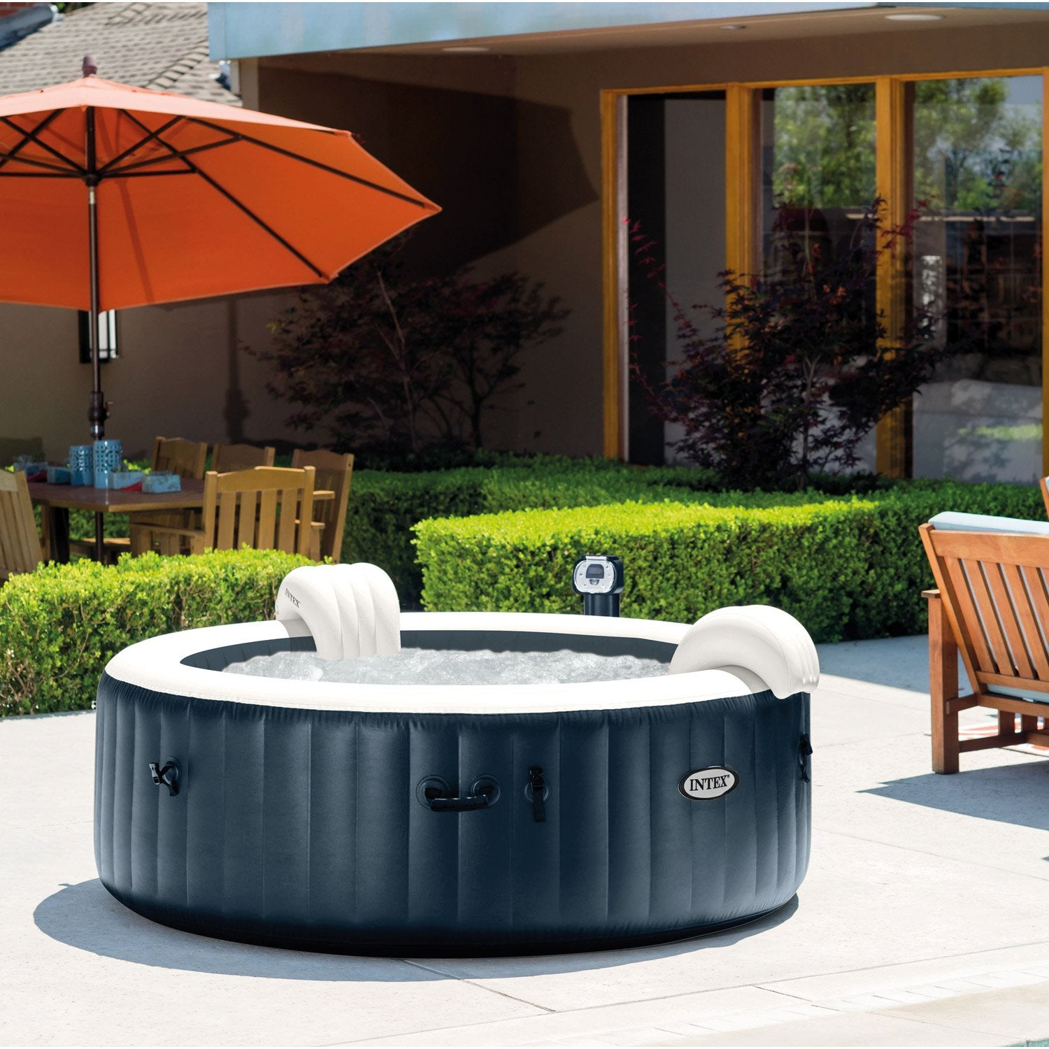 Assises Led Spa Rond6 Intex Places Gonflable Pure rBdexCo