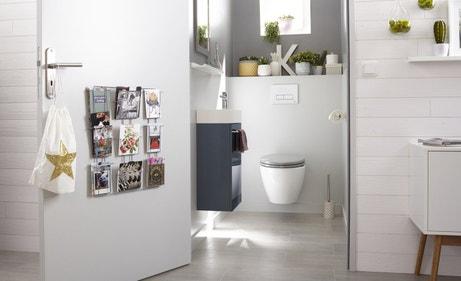 les wc aussi ont droit la d co leroy merlin. Black Bedroom Furniture Sets. Home Design Ideas