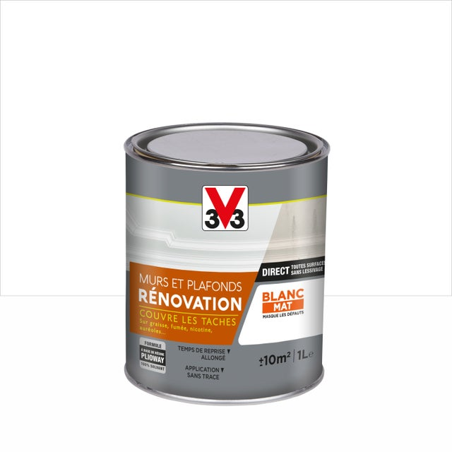 Peinture V33 Rénovation 1 L