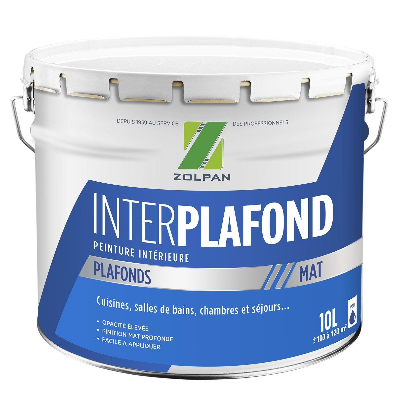 Peinture, Blanc, Plafond Inter Plafond ZOLPAN, ...