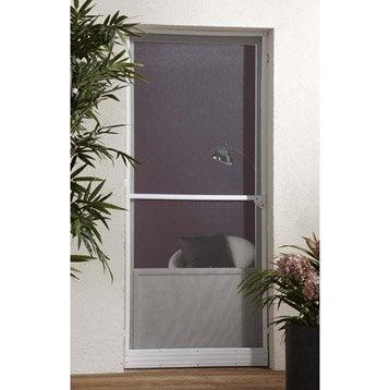 Moustiquaire pour porte-fenêtre pour porte ARTENS H.250 x l.100 cm