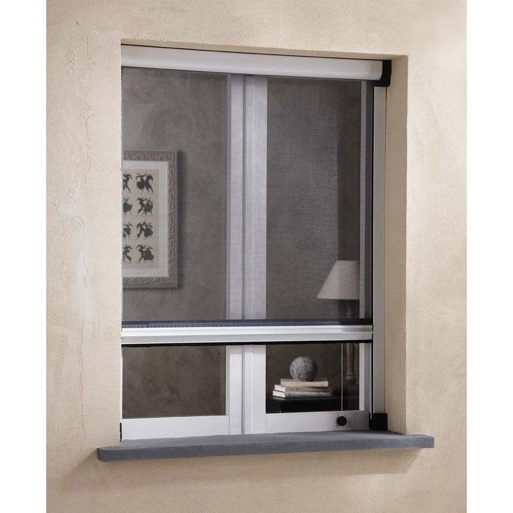 Moustiquaire pour fenêtre à enroulement vertical ARTENS H.160 x l.130 cm   Leroy Merlin