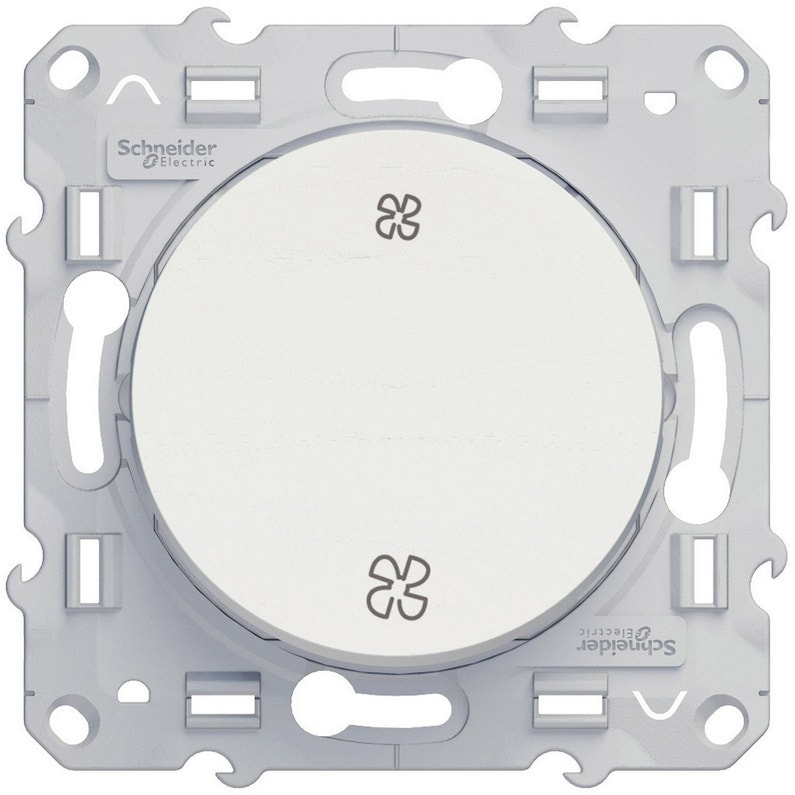 Commande Vmc Odace Schneider Electric Blanc
