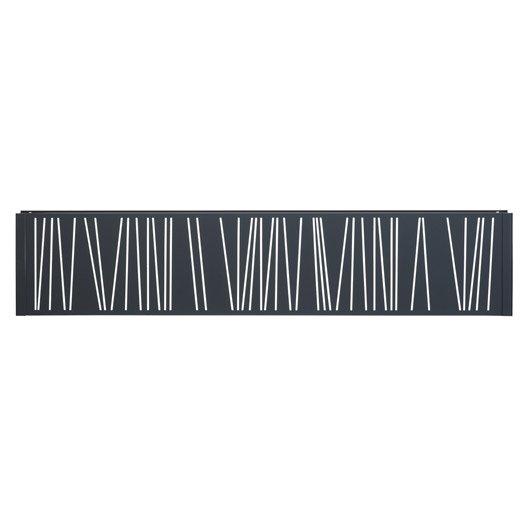 panneau d coratif gris anthracite h 0 4 x l 1 9 m leroy. Black Bedroom Furniture Sets. Home Design Ideas