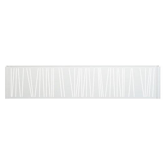 Panneau d coratif gris clair h 0 4 x l 1 9 m leroy merlin - Panneaux decoratif leroy merlin ...