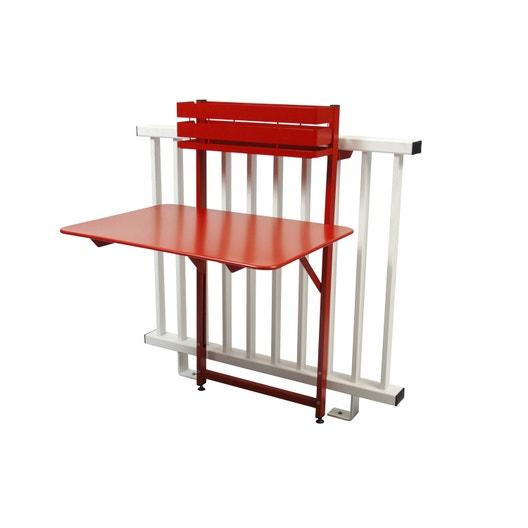 table de jardin fermob bistro rectangulaire coquelicot 2. Black Bedroom Furniture Sets. Home Design Ideas
