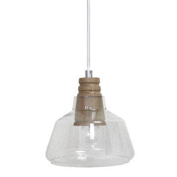 Suspension, e14  Plymouth bois transparent 1 x 40 W SEYNAVE