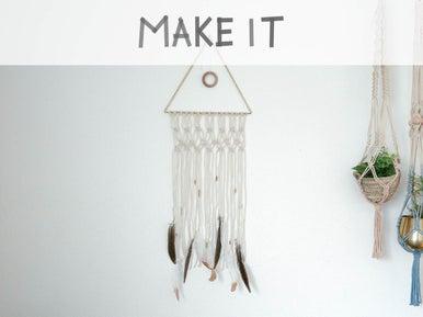 diy fabriquer un attrape r ves leroy merlin. Black Bedroom Furniture Sets. Home Design Ideas