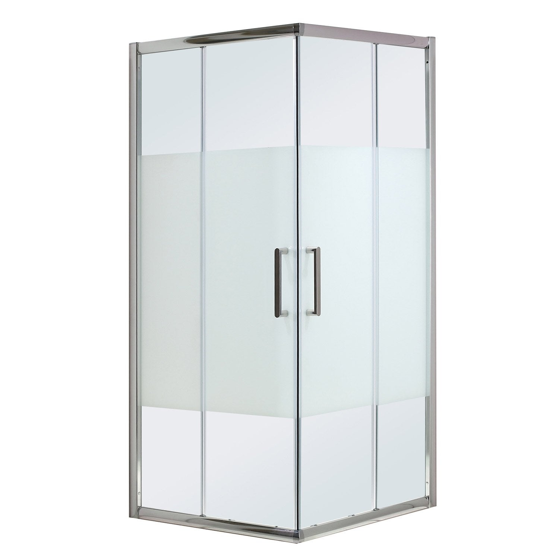 porte de douche angle carr cm x cm s rigraphi quad leroy merlin. Black Bedroom Furniture Sets. Home Design Ideas