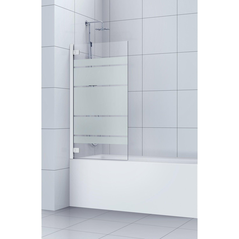 pare baignoire largeur 60 cm cheap pare baignoire cm transparent valencia with pare baignoire. Black Bedroom Furniture Sets. Home Design Ideas