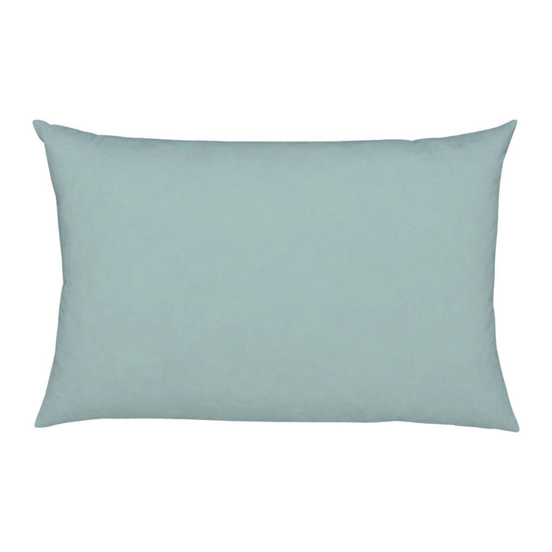 Housse de coussin Elema INSPIRE, vert sauge l.50 x H.30 cm