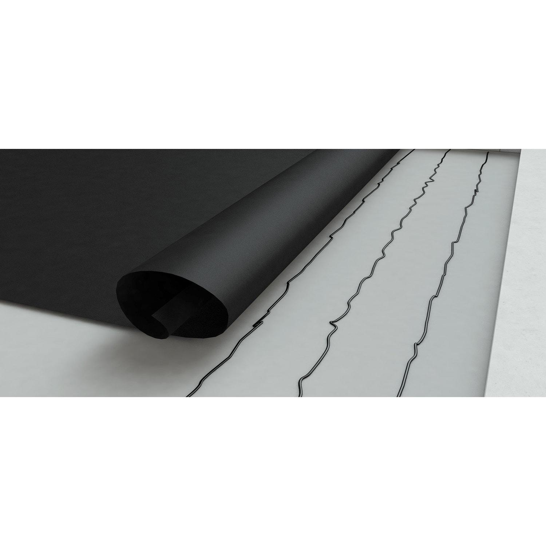 Membrane d 39 tanch it pour toit plat easygum gris l 1 x l 1 m leroy merlin for Etancheite toit plat
