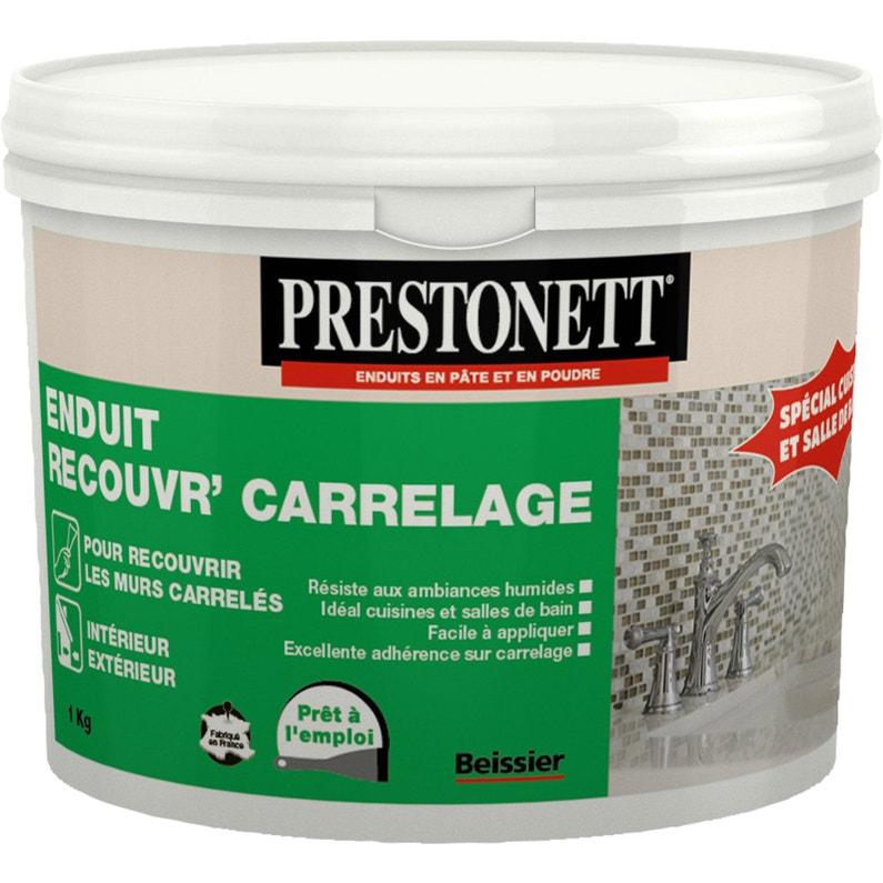 Enduit Multifonction Pâte Blanc Prestonett 1 Kg