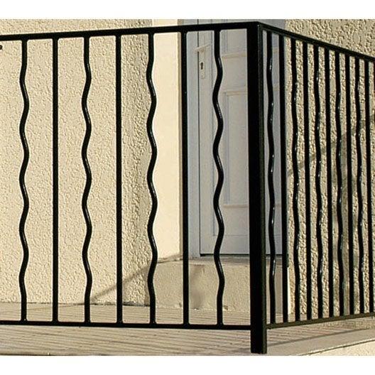 garde corps et barre d 39 appui rambarde rampant fer leroy merlin. Black Bedroom Furniture Sets. Home Design Ideas