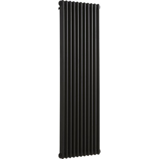 radiateur chauffage central tesi noir cm 1858 w leroy merlin. Black Bedroom Furniture Sets. Home Design Ideas