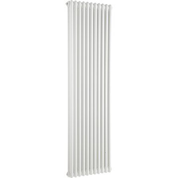 Radiateur chauffage central Tesi blanc, l.49.5 cm, 1858 W