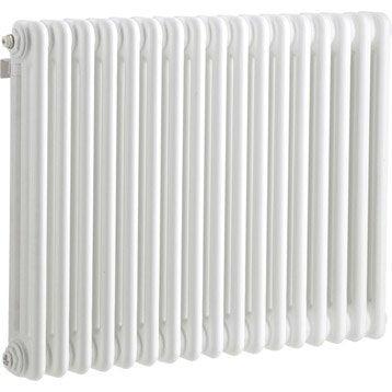 Radiateur chauffage central Tesi blanc, l.76.5 cm, 1030 W